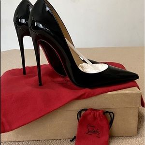 Christian Louboutin So Kate Red Bottoms 120 Patent